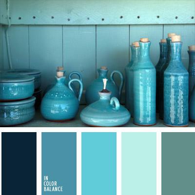 Farbpalette blau - Farbpalette grun wandfarbe ...