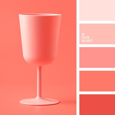 Monochrom Pink Farbpalette Tag Farbe Ideenfarbe Ideen